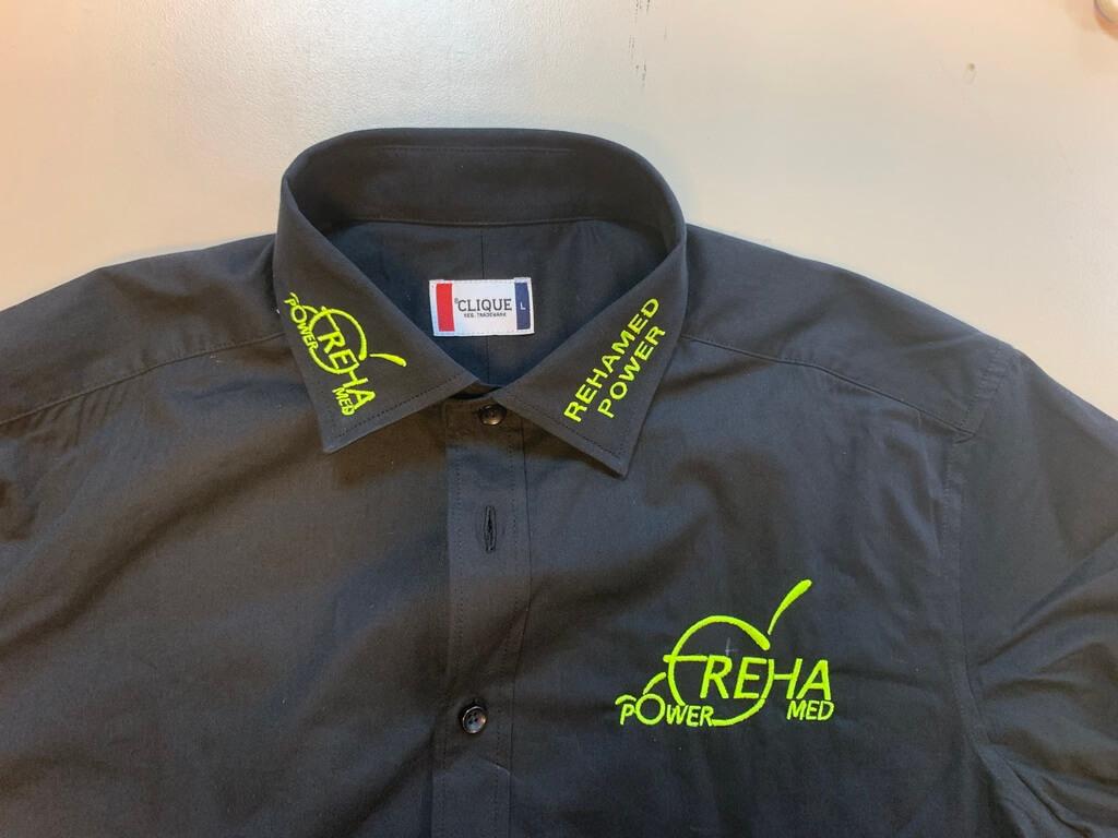 Bedrijfskleding Blouse Overhemd Rehamed Power Dortmund